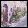 Italy Toward Sta. Margherita Collection of the Artist